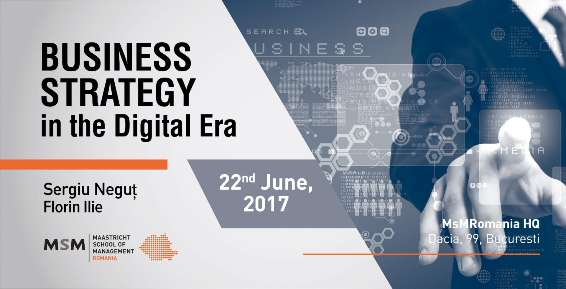 Business Strategy In The Digital Era, With Sergiu Negut U0026 Florin Ilie